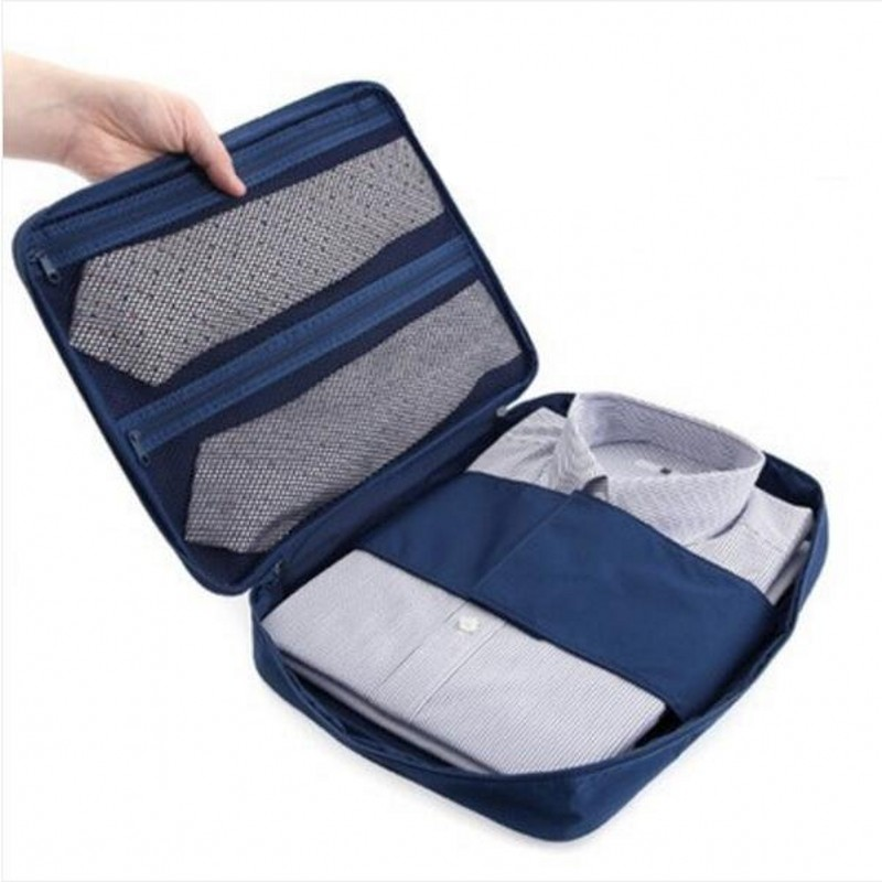 Fashion Multifunctional Travel Waterproof Storage Bag Portable Type Shirt And Tie Finishing Package Organizer