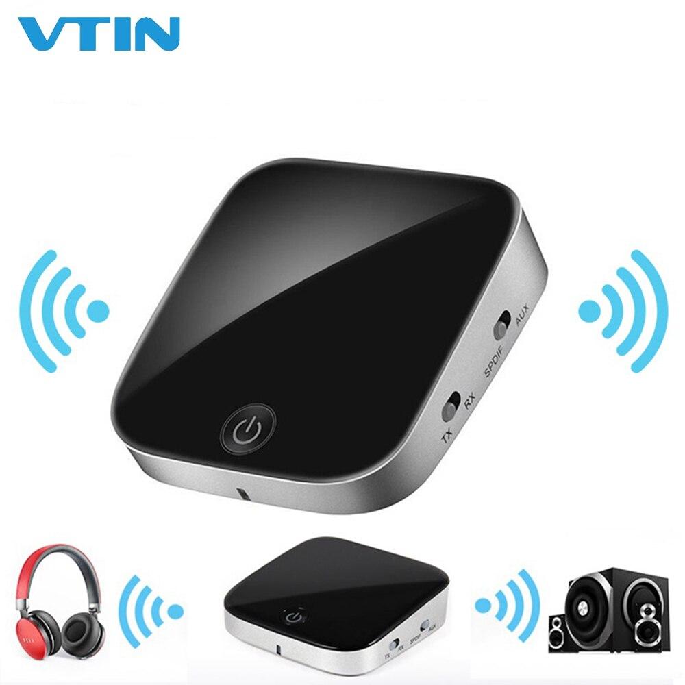 VTIN HIFI Wireless Receiver Bluetooth 5.0 Transmitter Audio 3.5mm SPDIF Optical Fiber Adapter for Smartphones PC TV Headphones