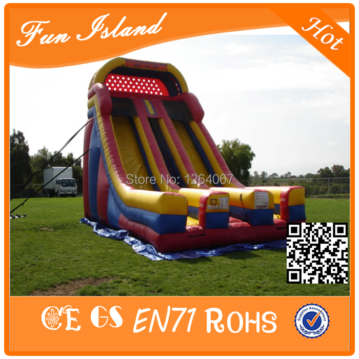 Free Shipping Cheap Commercial Giant Inflatable Slide, Inflatable Jumping Slide For Sale giant pvc commercial inflatable water slide with pool for sale
