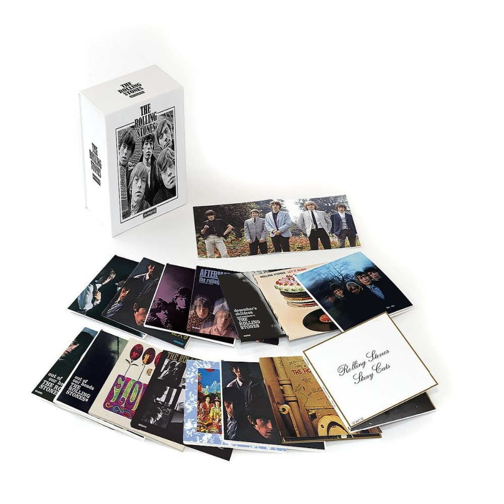 Nueva piedra rodante de alta calidad en mono Stones LIMITED 15CD BOX SET CD Boxset caja de música sets disco no barato calidad como otros.