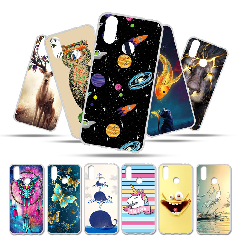 Bolomboy Painted Case For Cubot X19 Case For China Moble A3s Cubot H2 Magic P20 Power R11 Rainbow 2 X15 Plus Z100 Covers(China)