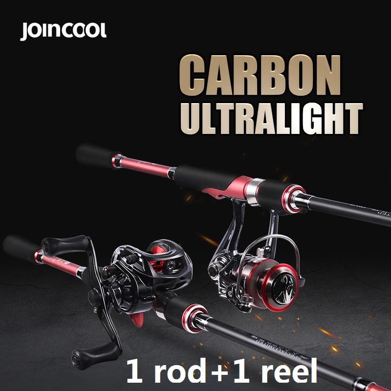 Joincool CAMILLE casting Rod Combo 9+1BB Baitcasting Reel 7.0:1 Telescopic Spinning Rod Carp Fishing Rod for Lure fishing 2015 free shipping 3 6m combo carbon fishing rod sections carp telescopic fishing rod spinning reel casting rod combo set