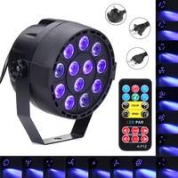36W UV Purple LED Stage Light DMX Stage Lighting Effect Par Lamp For Party Disco Club