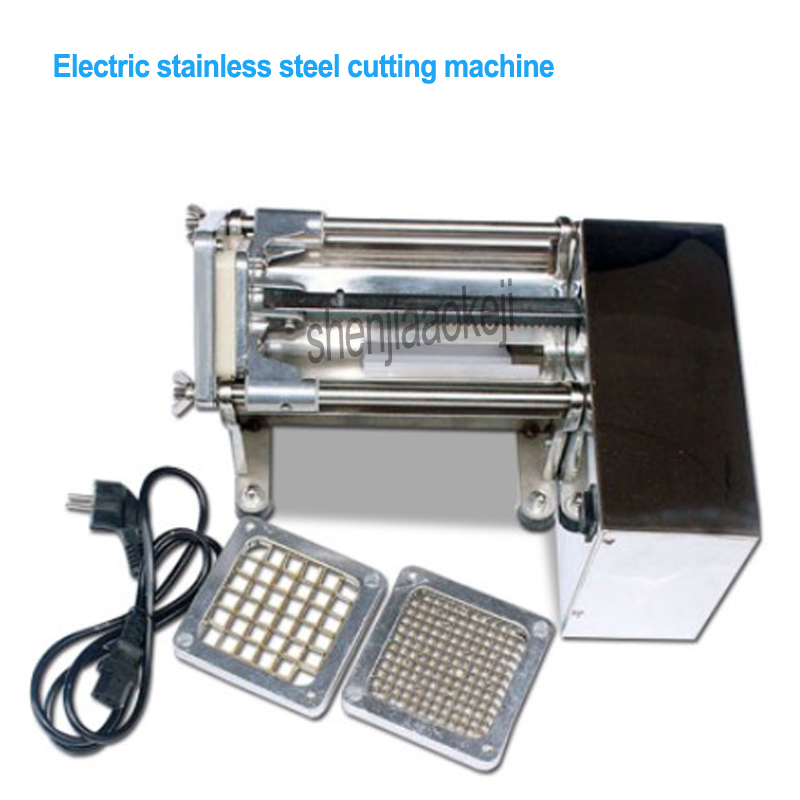 Электрический Резак для картофеля из нержавеющей стали коммерческий хрустящий картофель фри производитель огурцов, редис, машинка для чис... - 4