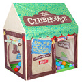 Juego Carpa plegable Kids Niños Niño Niña Castillo Cubby Play House Bithday Regalos de Navidad Juguete de Interior Al Aire Libre Tiendas de Campaña