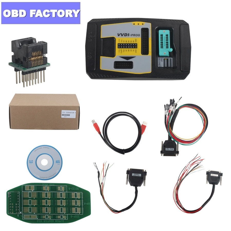 Xhorse VVDI PROG Programmer V4.8.0 VVDI Programmer OBD2 Scanner For BMW Xhorse VVDI Auto Key Programmer Update Online VVDIPROG-in Auto Key Programmers from Automobiles & Motorcycles    1