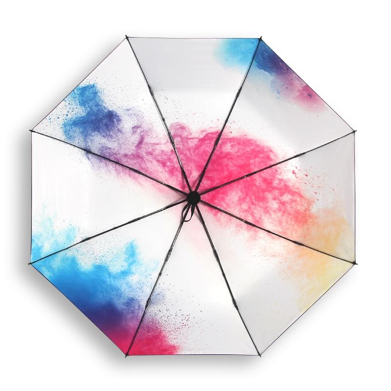 women compact umbrella upf 50 female sun protection. Black Bedroom Furniture Sets. Home Design Ideas