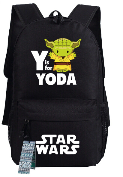 Star Wars Backpack Bag Yoda & Wookiee School