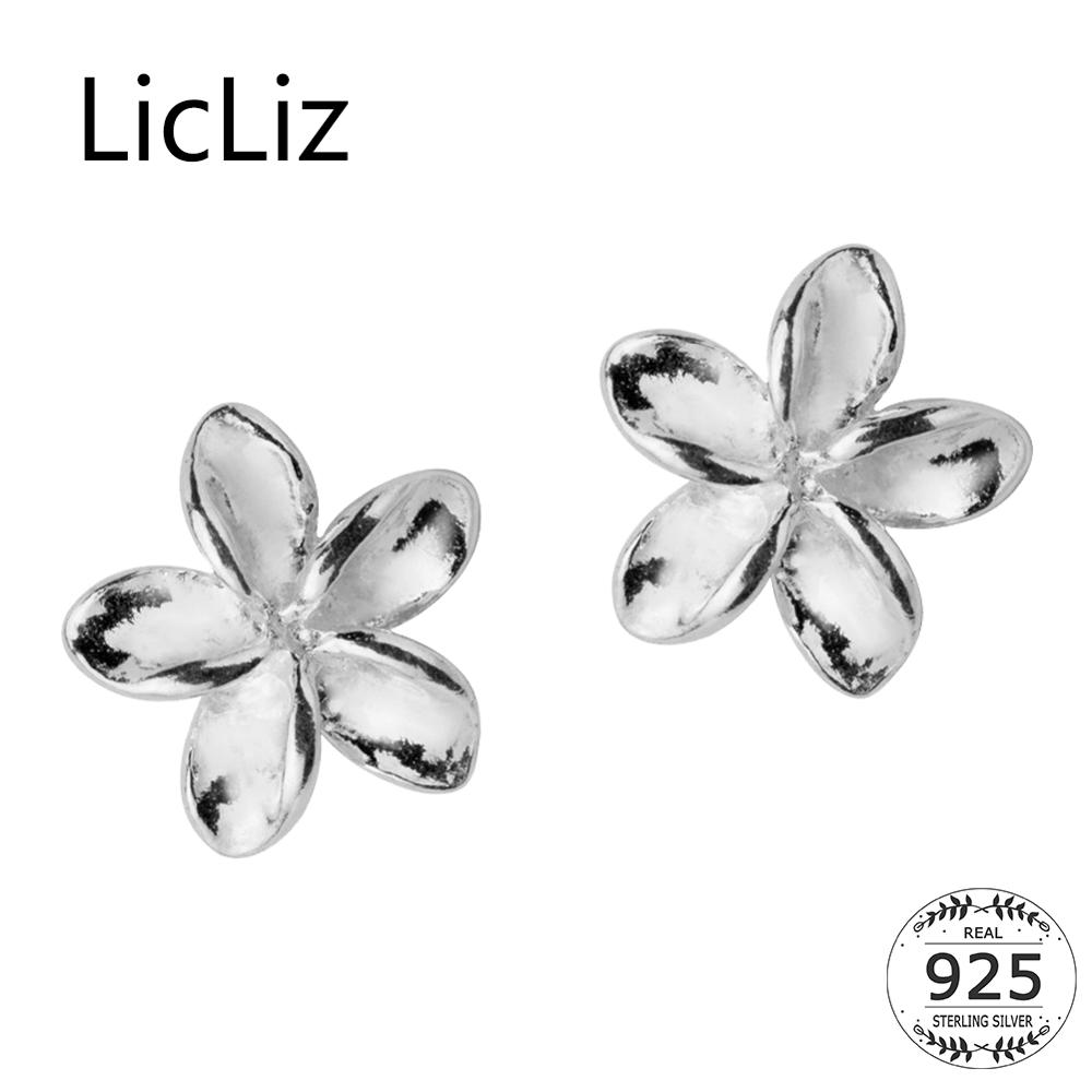LicLiz 2019 New 925 Sterling Silver Cute Flower Stud Earrings for Women Flower Center Earrings Jewelry Argent 925 Bijoux LE0496LicLiz 2019 New 925 Sterling Silver Cute Flower Stud Earrings for Women Flower Center Earrings Jewelry Argent 925 Bijoux LE0496