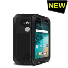The New Love Mei For LG G5 Waterproof Shockproof Gorilla Glass Metal Aluminum Case Cover For LG G5 Three proofing cases