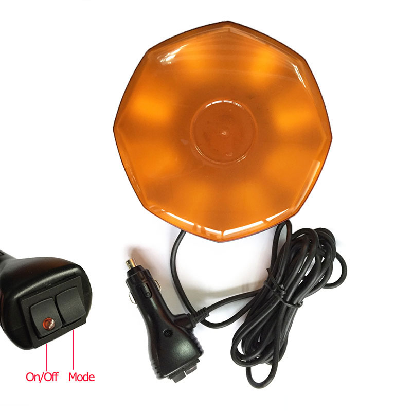 8 LED Beacon Car Emergency Lights Hazard Warning Auto Strobe Light w - Bilbelysning - Foto 5