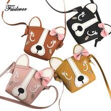 FSISLOVER 2019 Women Messenger Bags Fashion Mini Bag Cartoon Cats Bag For Girls Women Shoulder Bags bolsa feminina Drop Shipping