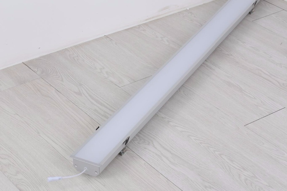 Free Shiping led recessed linear light,linear led fixture,linear led lamp with mounting clips цена и фото