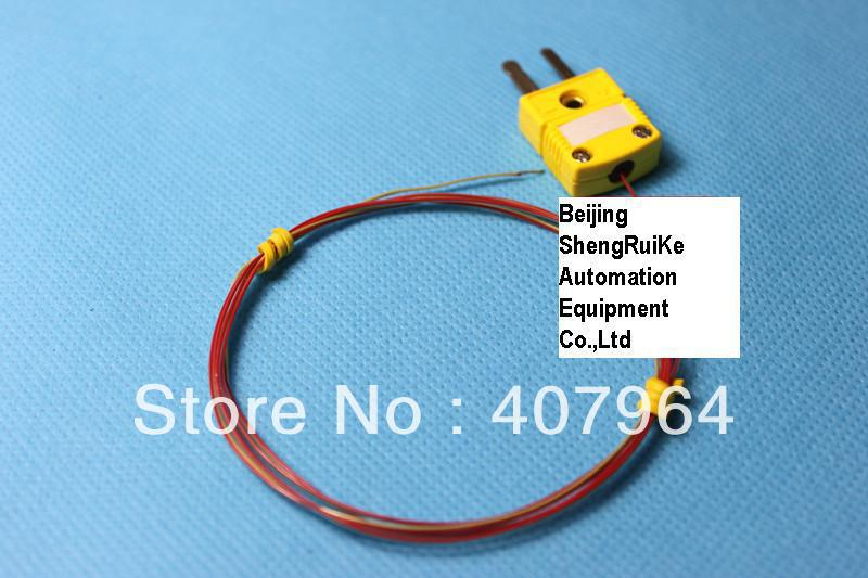 TT K 36 SLE K type thermocouple with OMEGA Connector ,2*0.127mm ...