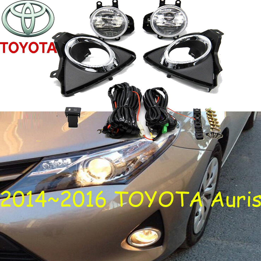 Auris fog light 2014 2016 2007 Axio halogen light Free ship altis headlight Auris Vienta Echo