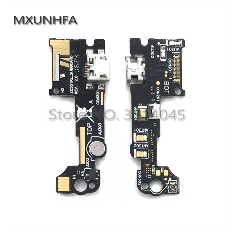 USB Charger Charging Port Flex Cable For Asus Zenfone 3 Laser ZC551KL ZE520KL ZE552KL Micro Dock Connector Replacement Parts