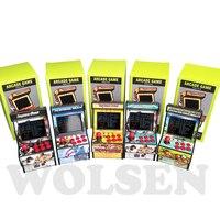 Wolsen 16 Bit Arcade video game arcade cabinet TV handheld game built in 156 games