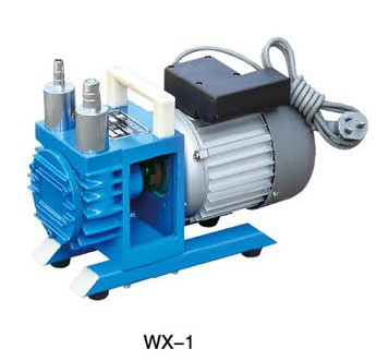 Linhai City Tan Vacuum WX-1 Oil Free Rotary Vane Vacuum Pump 1L/S  AC220V manka care 110v 220v ac 50l min 165w small electric piston vacuum pump silent pumps oil less oil free compressing pump