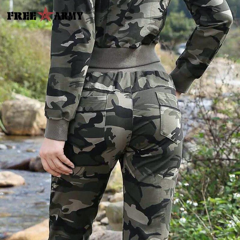 Sport Giacca Tuta Per Corta Freearmy Camouflage Set Donna Sottili Marca Pantaloni Due Del Le Donne Delle Di Autunno Femminile Pezzi Vestito SEwUwq7