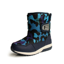 2017 ботинки на резиновой подошве для Детская обувь Водонепроницаемый нескользящие для мальчиков обувь детские непромокаемые ботильоны Детское хлопковое вечернее платье в горошек, 15F обувь