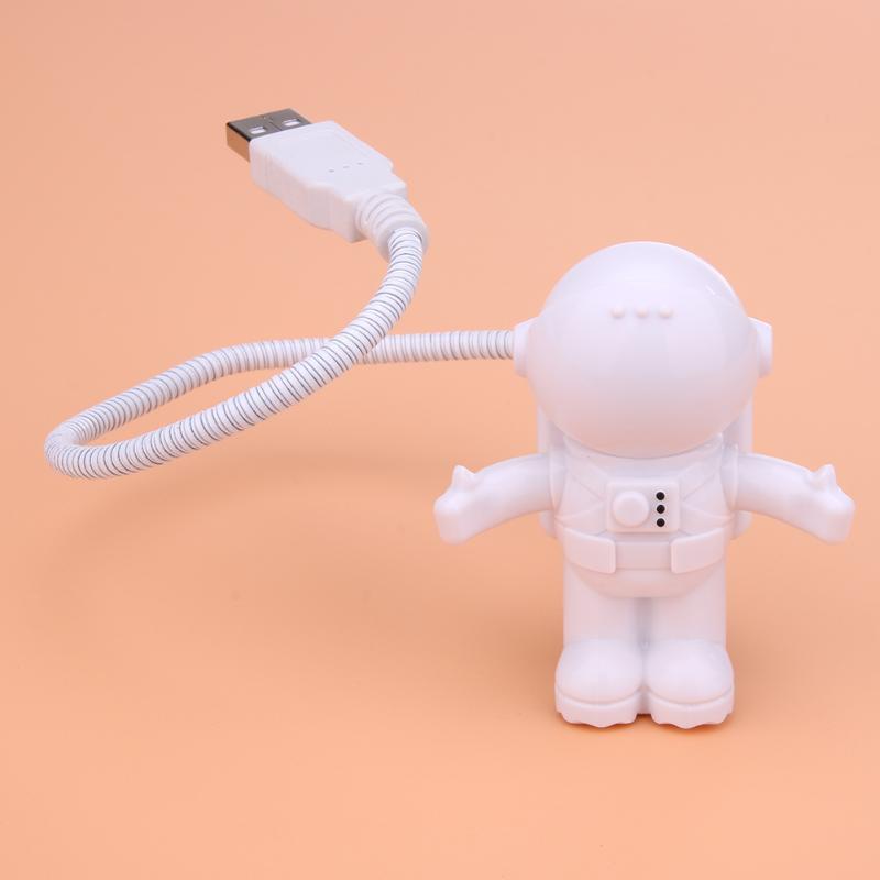 Астронавт USB светодиодный свет лампы для ноутбука Настольный компьютер Портативный чтения бюро свет