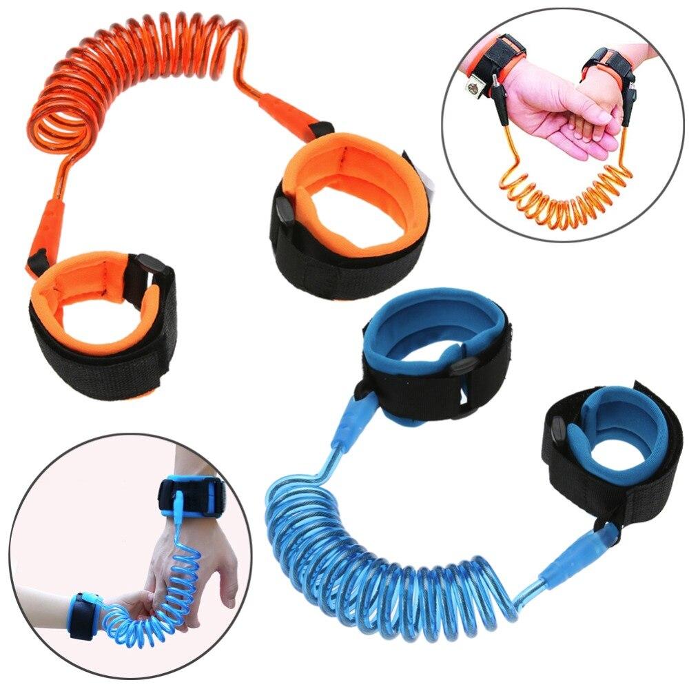 Adjustable Baby Walkers Belt Kids Safety Anti-lost Wrist Link Band Children Harness Leash Strap Baby Stroller Accessories