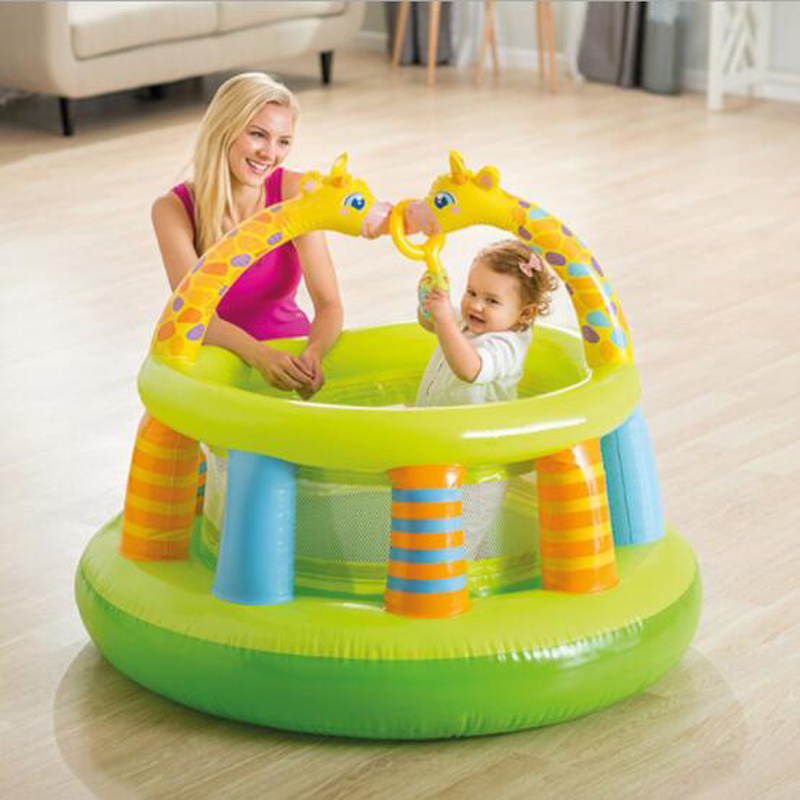 Baby Inflatable Playing Toy Children Activity Fairy PVC Gym Infant baby Ocean Ball Pool Indoor Games