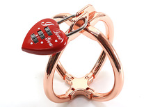New Coming Metal Handcuff With Lock Sex Toys For Women Men Adult Game BDSM Fetish Metal Wrist Cuffs Hand Bondage Restraint Toys