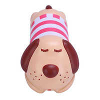 PU Kawaii Scented Pap Dog Squishy Slow Rising Soft Squeeze Fun Stress Release Kids Toys Charm
