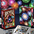 Fireworks Deck Bicycle Playing Cards Poker Size USPCC Limited Edition New Sealed Magic Props Magic Tricks
