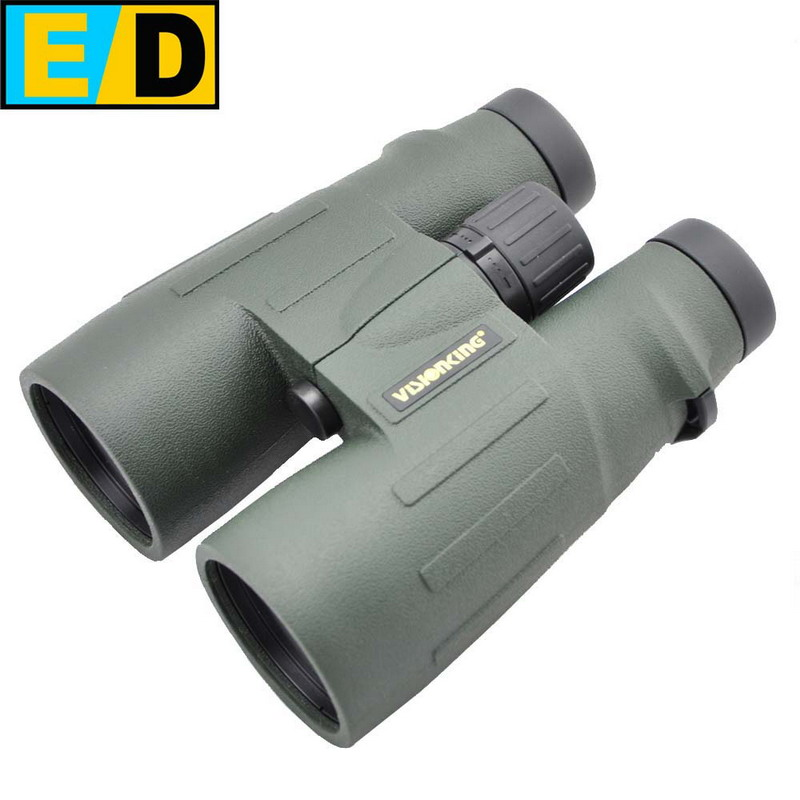 Visionking 8x56 ED Top Quality Binocular Telescope High Power Military Professional Bak4 Hunting Spyglass HD Guide Scope W/Bag