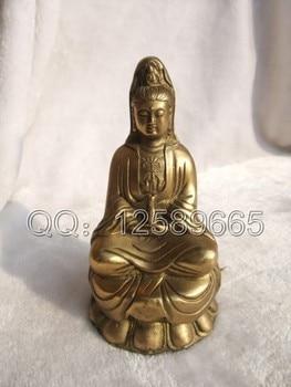Bodhisattva copper buddha jingping copper avaloktesvara decoration