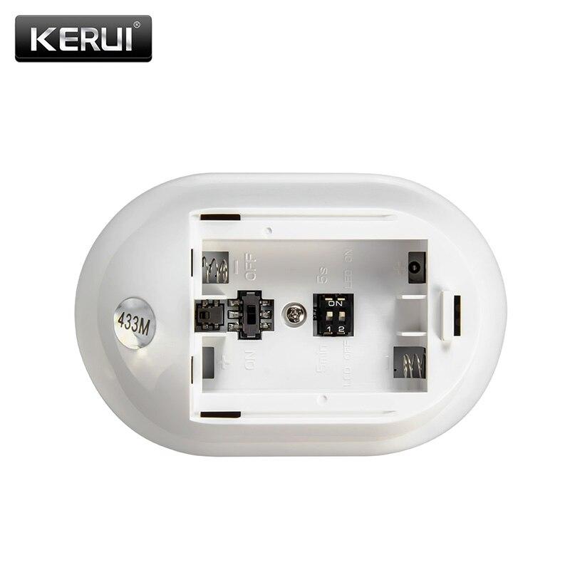 KERUI P829 Ασύρματος ανιχνευτής κίνησης PIR - Ασφάλεια και προστασία - Φωτογραφία 6
