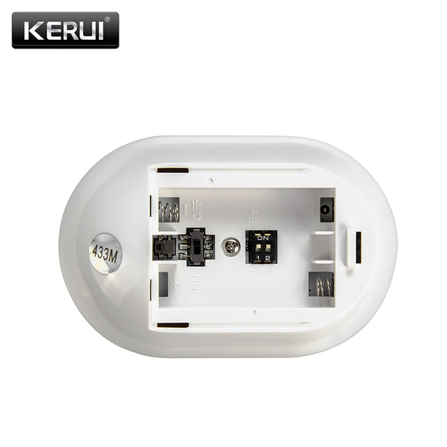 KERUI P829 Wireless PIR Motion Detector for KERUI Home Alarm System Smart Home Motion Detector Sensor With Battery