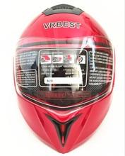 Unisex adulto-flip-up-capacete-estilo de Rua Da Motocicleta Capacete (Preto Liso, X-Grande)