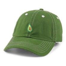 BING YUAN HAO XUAN hombres mujeres fruta sombrero del papá gorra de béisbol  Polo estilo unconstruido 6d81d95e812d