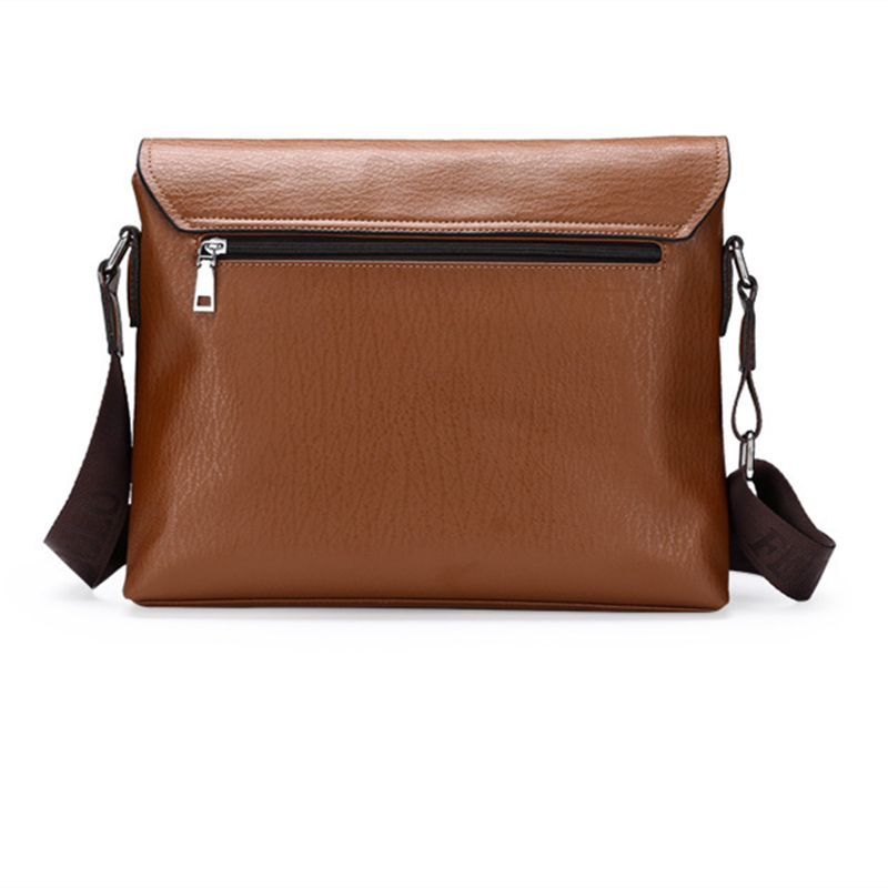 2016 Fashion Genuine Leather Men Briefcase Cowhide Men's Messenger Bags Laptop Business Bag Luxury  Handbags-in Laptop Bags & Cases from Computer & Office    2