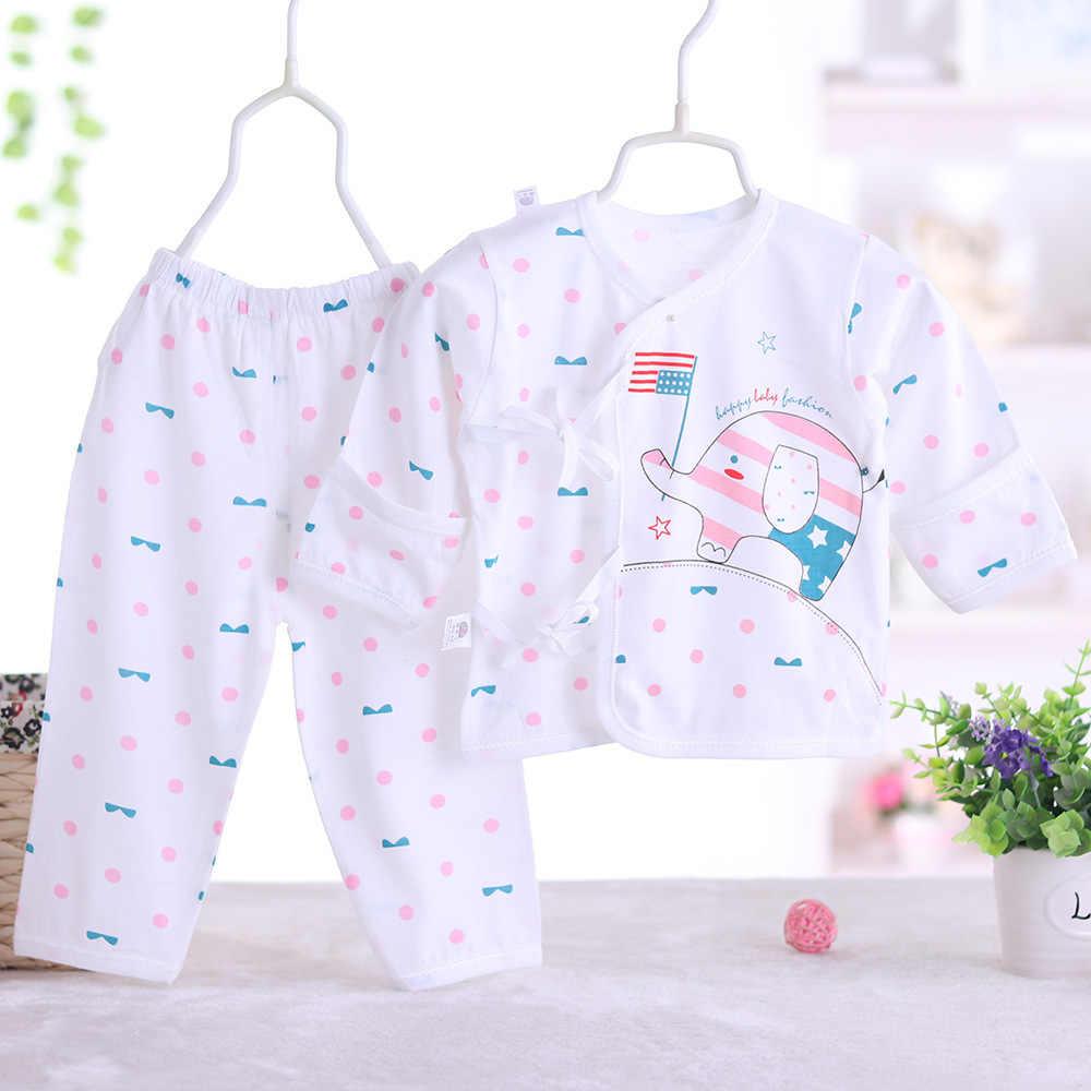 112017 verão bebê Recém-nascido estilo moda bebê roupas menino definida, menina roupa do bebê macio e confortável T-shirt + calças 2pcs conjuntos