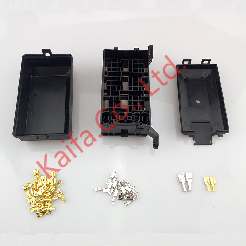 New type Auto fuse box 6 relay relay holder 5 road The nacelle insurance car insurance 2015 new arrival 12v 12volt 40a auto automotive relay socket 40 amp relay