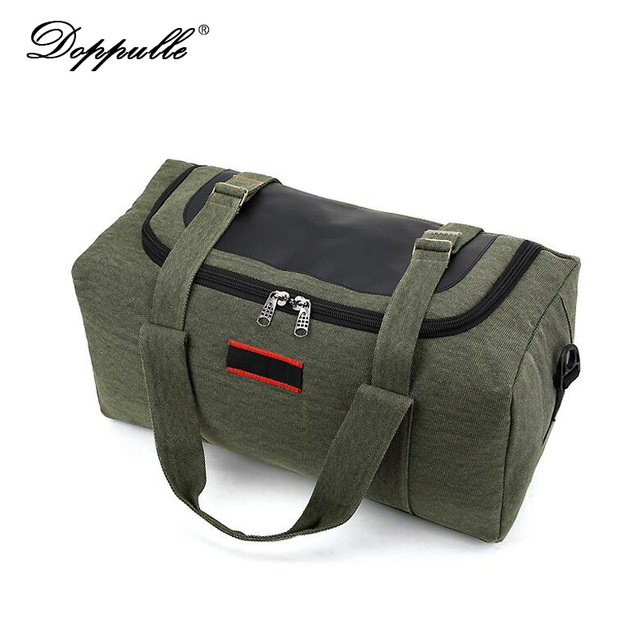 DOPPULLE Fashion brand Men Travel Bags Large Capacity 36-42L Women Luggage Duffle Bags Canvas Folding Bag For Trip Waterproof