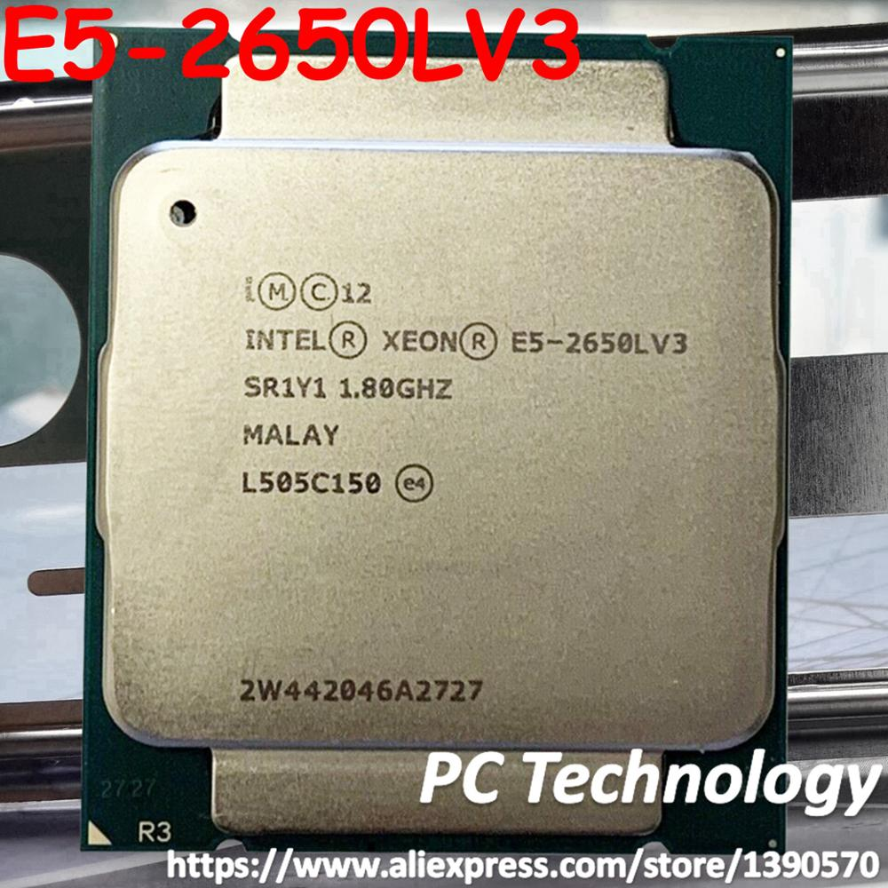 Original Intel Xeon Processor E5 2650LV3 OEM OFFICIAL Version 1 8GHz 12 Core 65W 30M E5