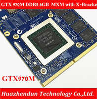 New Original GTX 970M Graphics Card GTX970M with X-Bracket N16E-GT-A1 6GB  GDDR5 MXM For Dell Alienware MSI HP