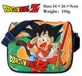 Anime Dragon Ball Z Bolsa de Ombro de Nylon Sim Ver Impresso Messenger Bag Cosplay Presente