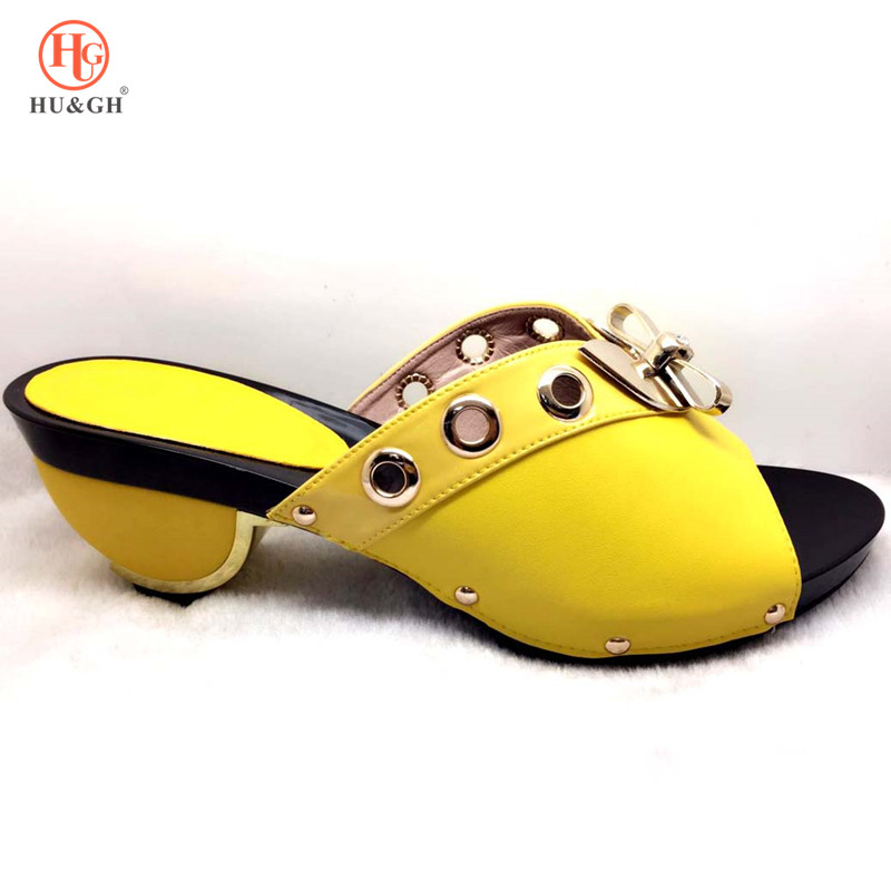 2019 Wedding African Shoes Without Bag Matching Set Novelty Italian Shoes Nigerian Summer Sandals Shoes Good Quality High Heels(China)