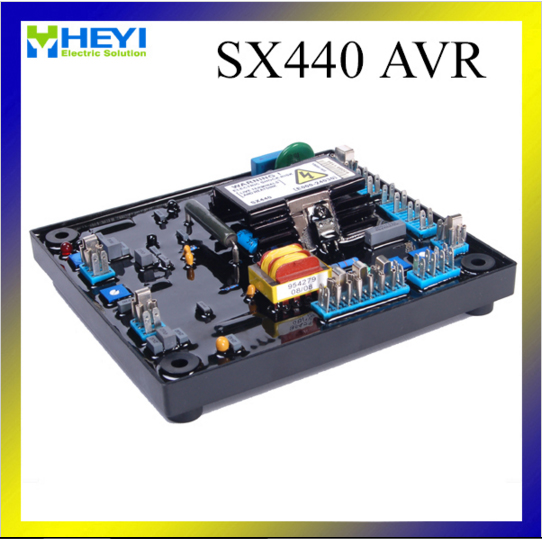 Leroy Somer AVR R230 Automatic Voltage Regulation affect regulation