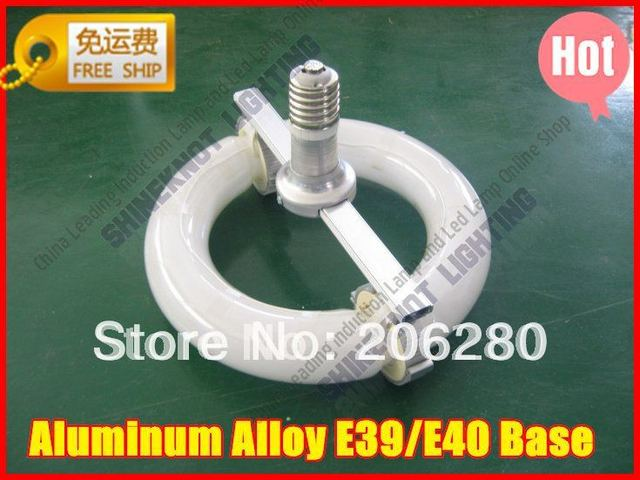 Free Ship 150W  E40 Aluminum Alloy base Low frequency Round shape induction lamp for Highbay fixture With Electronic ballast