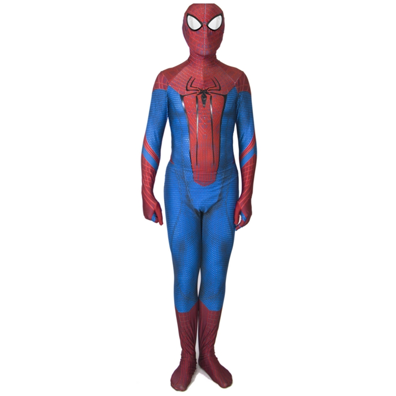 The Amazing Spider-Man Lycra Halloween Cosplay costume For Adult