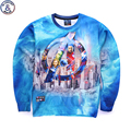 Mr.1991 brand youth brand 3D The Avengers printed hoodies boys teens Spring Autumn thin sweatshirts big kids  W9
