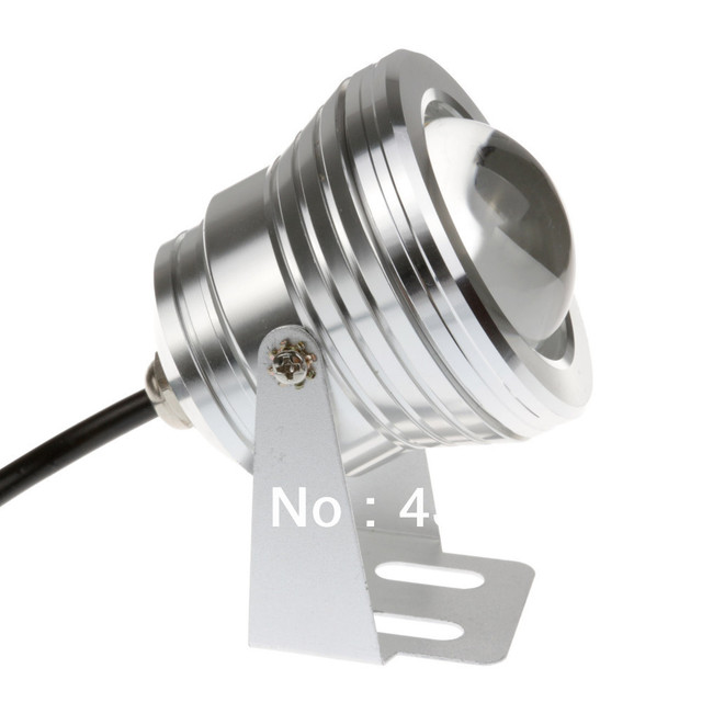 ( Free shipping ) 10W 12v underwater RGB Led Light 1000LM Waterproof IP68 fountain pool Lamp 16 color change with IR Remote