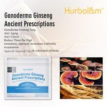 Hurbolism новая формула здоровья жизнь Ганодерма женьшень древние прописей для повышения иммунитета и сексуальной функции 50 г/лот